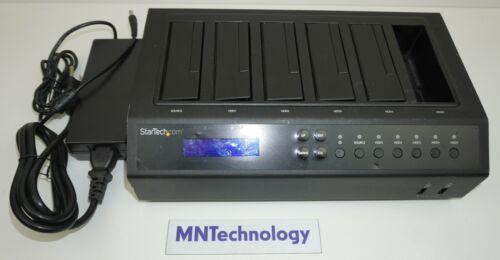 "StarTech | SATDOCK5U3ER | 6-Bay Hard Drive Duplicator 2.5"" to 3.5"" Dock w/ Power"