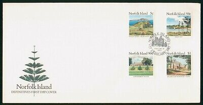 Mayfairstamps Norfolk Island FDC 1987 Places to Visit Combo First Day Cover wwo_