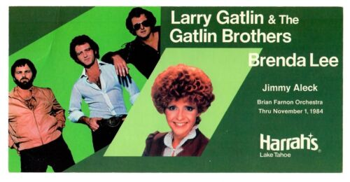 Brenda Lee Larry Gatlin & The Gatlin Bros 1984 Harrah