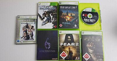 7x Xbox 360 Spielesammlung Paket bis USK 18