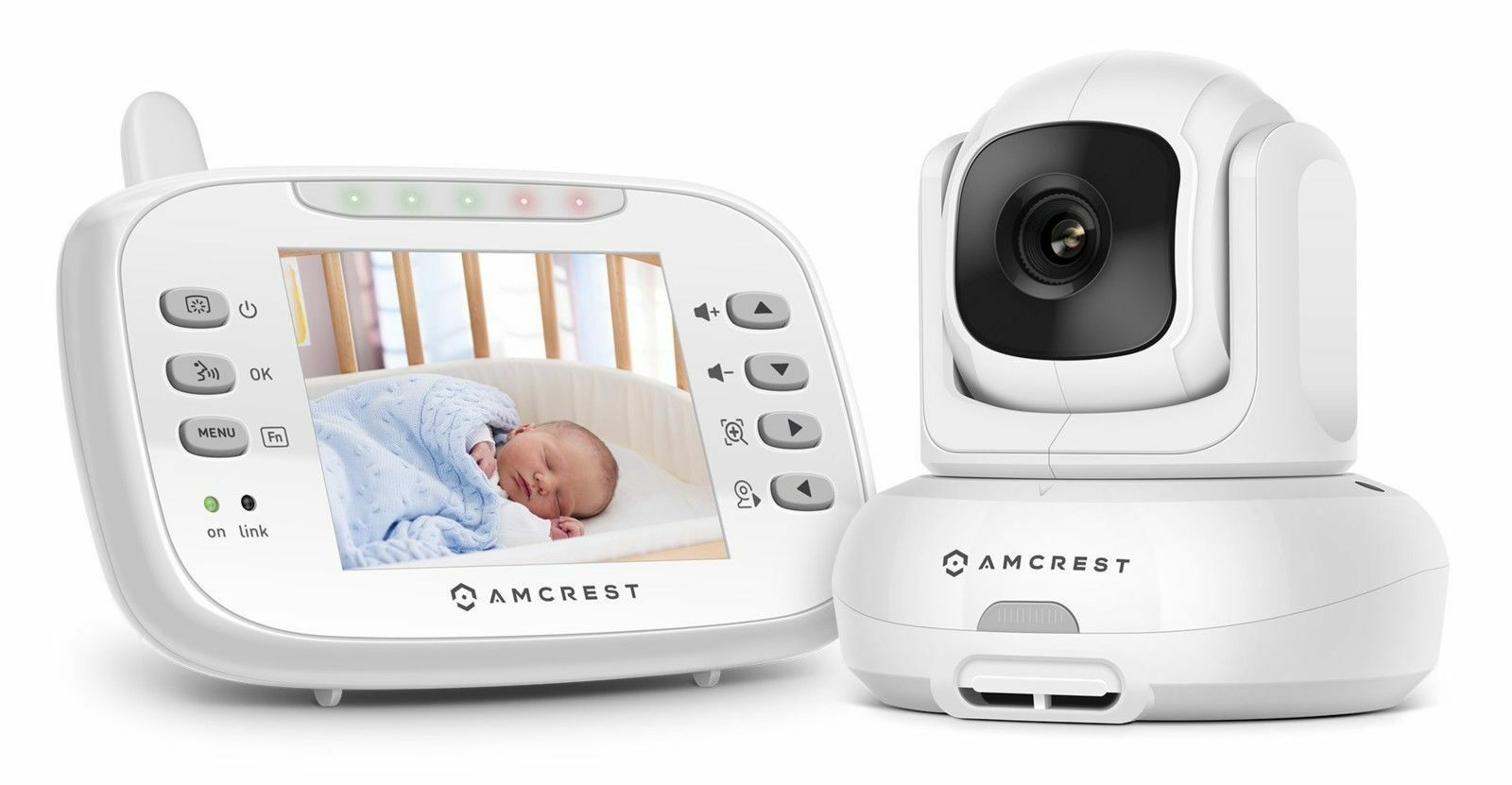 Amcrest Care Baby Monitor AC-1 Night Vision, Pan Tilt, Camer