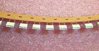 Qty 100 .082uf 63v 5 Metallized Film Capacitors R85dc2820ck04j Arcotronics