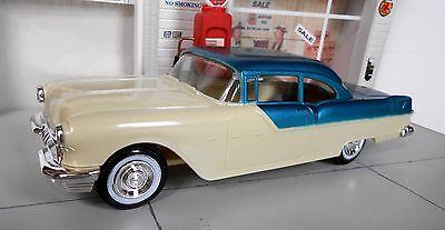 1955 PONTIAC 2 DOOR PROMO MODEL CAR.  1/25 SCALE  AWESOME CAR!!!