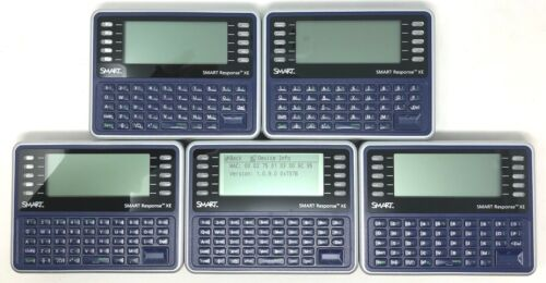 SMART Response XE System Remote *Lot of 5 *Model# 03-00182 *Powers On *Clean