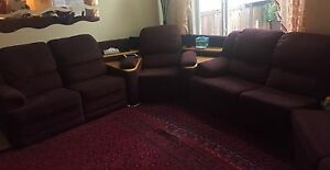 Couch SET + sofa with perfect Bed- REDUCED