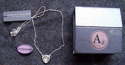 Jon Richard Sterling Silver 925 Pendant Necklace