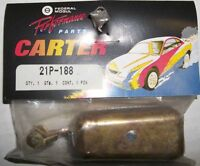 """CARTER AFB CARB BRASS FLOAT # 21P-188 ( 1 1/6"""" HIGH AT TOE ) $10"""