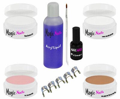 Acryl Set Starterset Liquid Pulver Acrylpulver Pinsel Primer Nagel