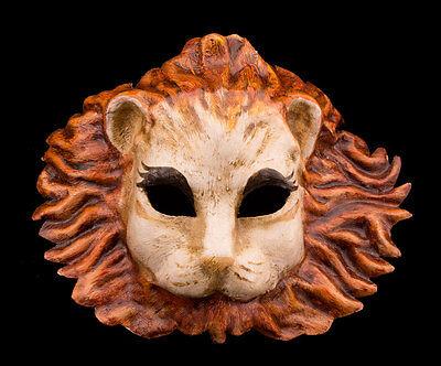 Mask Venetian Lion in Paper Mache Fancy Collection -1887