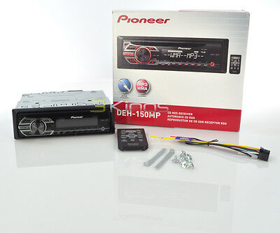 NEW PIONEER DEH150MP CD/MP3 Car Receiver Player Stereo Radio Aux DEH1300MP on Rummage