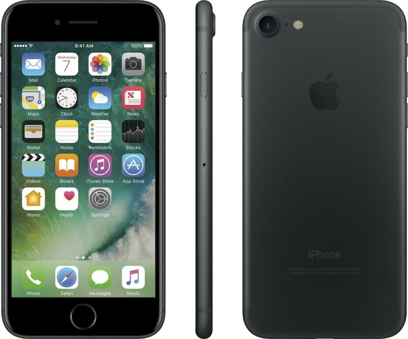 Apple iPhone 7 32GB Black LTE Cellular AT&T MN9D2LL/A
