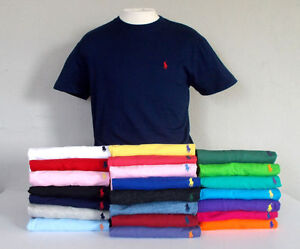 Men-039-s-Polo-Ralph-Lauren-Crew-Neck-Custom-Fit-T-Shirt-S-2XL