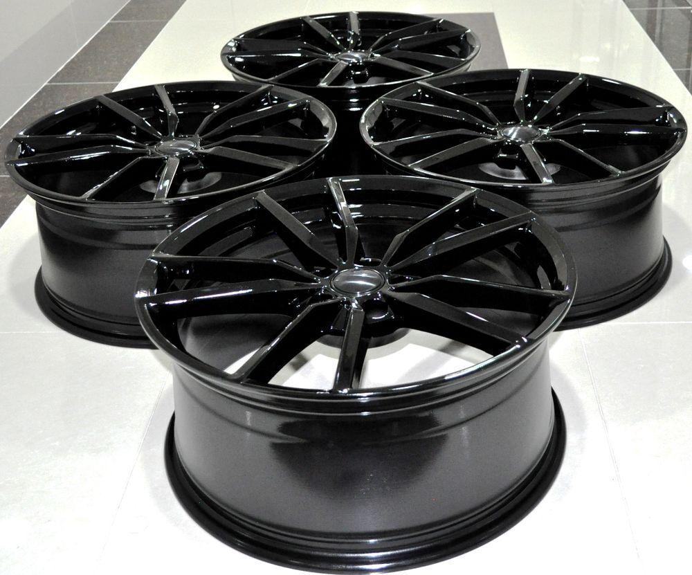 4 New Black Vw Golf R Pretoria Style Alloys Alloy Wheels R32 Gtd Mk5 Volkswagen Gti R400 Mk6 Mk7