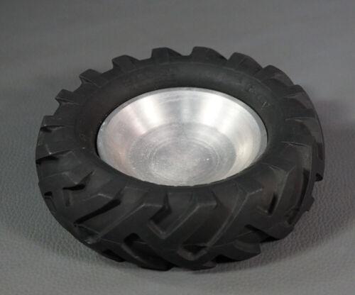 1950s Bridgestone Softair Tractor Truck Tyre Tire Rubber Metal Ashtray Japan