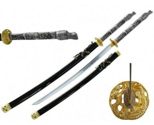 "43"" Highlander MacLeod Duncan Full Tang 1045 Carbon Steel Samurai Sword Katana"