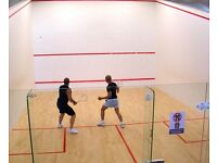 Looking for a squash partner in Glasgow