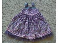 M&S party dress age 3-4
