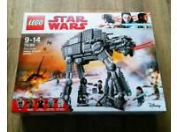 NEW - LEGO Star Wars First Order Heavy Assault Walker 75189 - £95