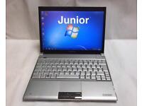 Toshiba Laptop, 250GB, 2GB Ram, Windows 7, Slimline, Portable, Microsoft office, Like New Cond
