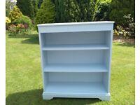 Oak painted bookcase