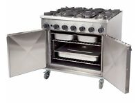 6 Burner commercial catering cooker NEW