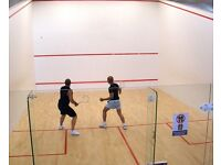 Squash Lessons - Beginner and Intermediate - Great Workout and Fun!