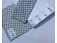 Lavender tablecloths bundle, handmade 100% cotton, machine washable at 40 degrees
