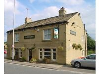 Live in joint management couple required to run Colliers Arms, Elland, Halifax, HX5 9HZ