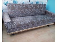 ** BARGAIN ** 2 x 3 Seaters Sofas - Storage - In Good Clean Condition ** MUST LOOK **