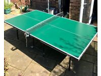 full size pre-owned Butterfly table tennis table for sale, buyer collects