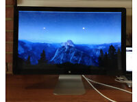 Apple 27-inch Thunderbolt Display Computer Monitor, 2015, A1407, in original box, immaculate.