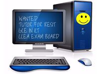 TUTOR for ICT - A -Level resit