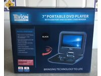 Tevion portable DVD player