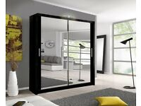 Brand New Sliding Wardrobe 6 Colours and 4 Sizes Call Now for Order