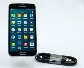 AS NEW SAMSUNG S5 16GB UNLOCKED WITH RECEIPT AND WARRANTY
