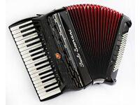 New Paolo Soprani Professional 37 / 96 Musette 4 Voice Piano Accordion