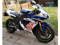 2007 YAMAHA YZF R1 BLUE WHITE GP £3150