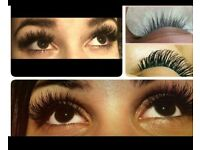 Semi permanent eyelash extension £30