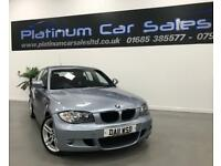 BMW 1 SERIES 118D M-SPORT PERFORMANCE EDITION + OLYMPICS LIMITED EDITION (blue) 2011