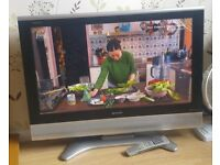 "Sharp aquos 32"" inch flat screen scart htmi smart TV tele plasma"