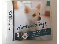 "Nintendo DS ""Nintendogs Chihuahua &friends"" game"