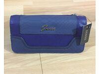 Guess purse navy blue wallet