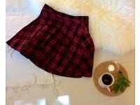 Tartan Kilt Mini Skirt | SIZE 8