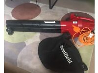 USED Mountfield Garden Vac Leaf Blower BE2800