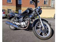 Yamaha YBR Custom Black VERY LOW MILEAGE