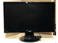 "Asus 22"" 1080p widescreen monitor good condition £50"