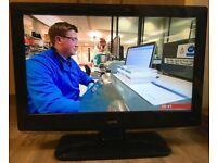26 inch Logik L26dvdb21 HDMI Flat LCD TV Freeview Digital Television