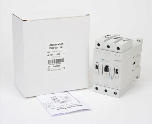 AUTOMATION DIRECT GH15KT-3-00B  GH15  SERIE  IEC CONTACTOR  80A