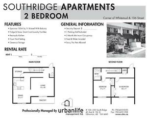 2 Bedroom –Southridge Apartments - Great Discounts! Edmonton Edmonton Area image 2