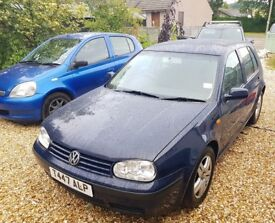 Volkswagen golf, T plate great condition for age